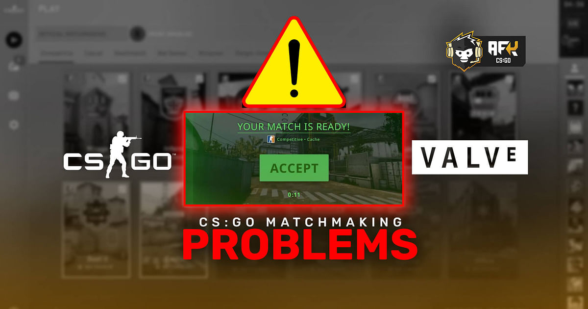 Players and Talents Point Out Multiple Problems With CS:GO Matchmaking