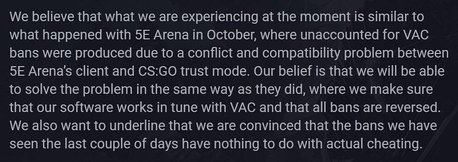 Fnatic CS:GO Pro Krimz's VAC Ban Removed by Valve