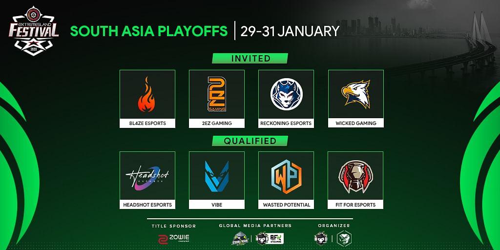 ZOWIE eXTREMESLAND CS:GO Festival 2020 All Set for South Asia Playoffs