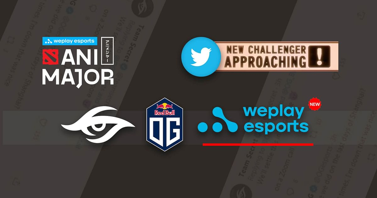 WePlay Esports Joins Team Secret and OG on the Twitter Banter Wagon