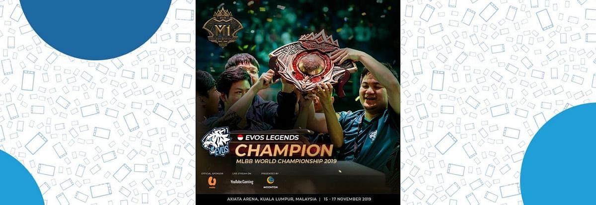 EVOS Legends win M1 World Championship; Takes Home 80,000 USD