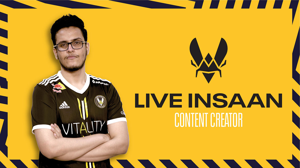 Interview with Team Vitality's Nischay 'Triggered Insaan' Malhan
