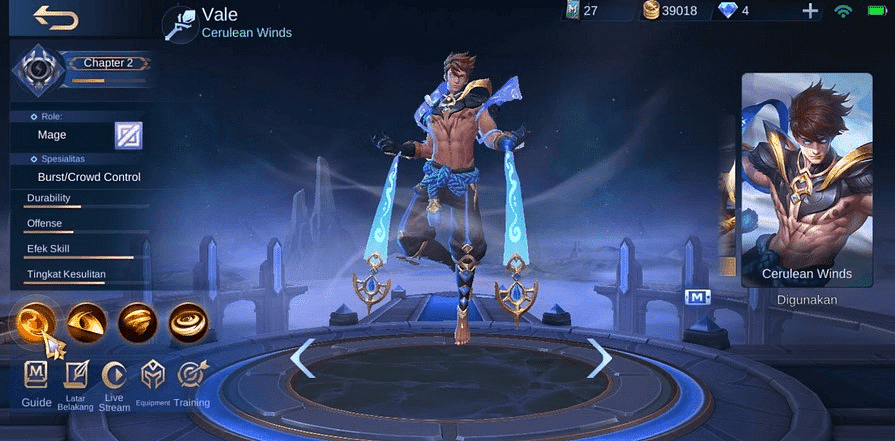 MLBB Blazing West Event and Free Vale Skin Giveaway