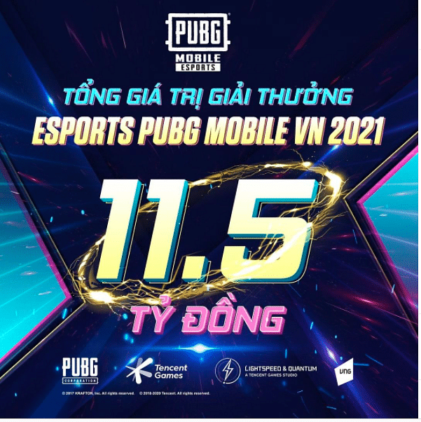 PUBG Mobile Unveils Vietnamese Tournament With a Prize Pool of 11.5 Billion VND