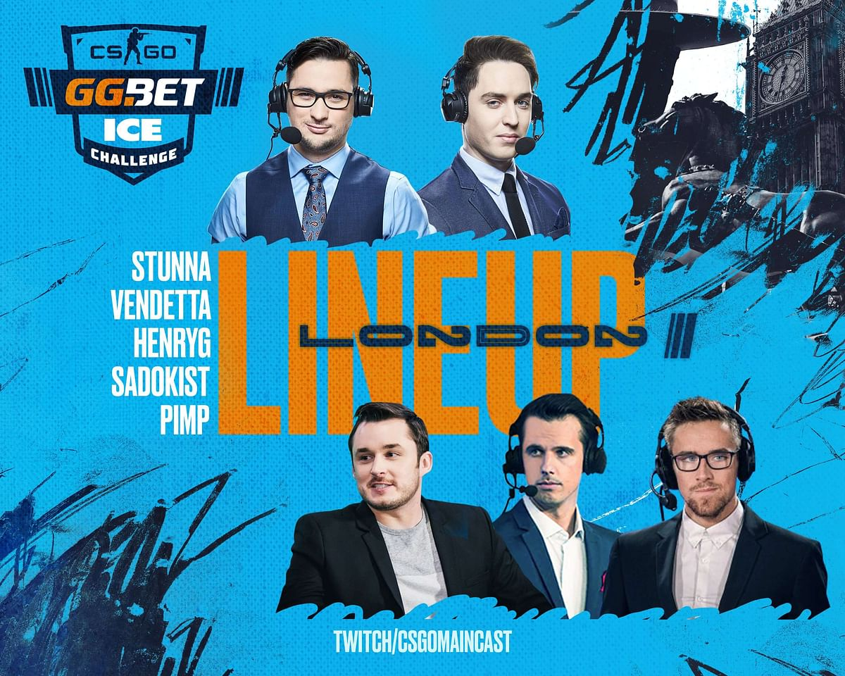 GG.Bet Announces Groups and Talent Lineup for ICE Challenge 2020