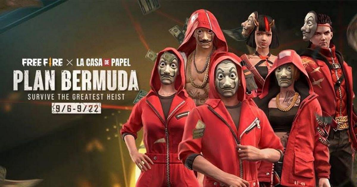 Plan Bermuda, The Garena Free Fire X Money Heist Event Is Here