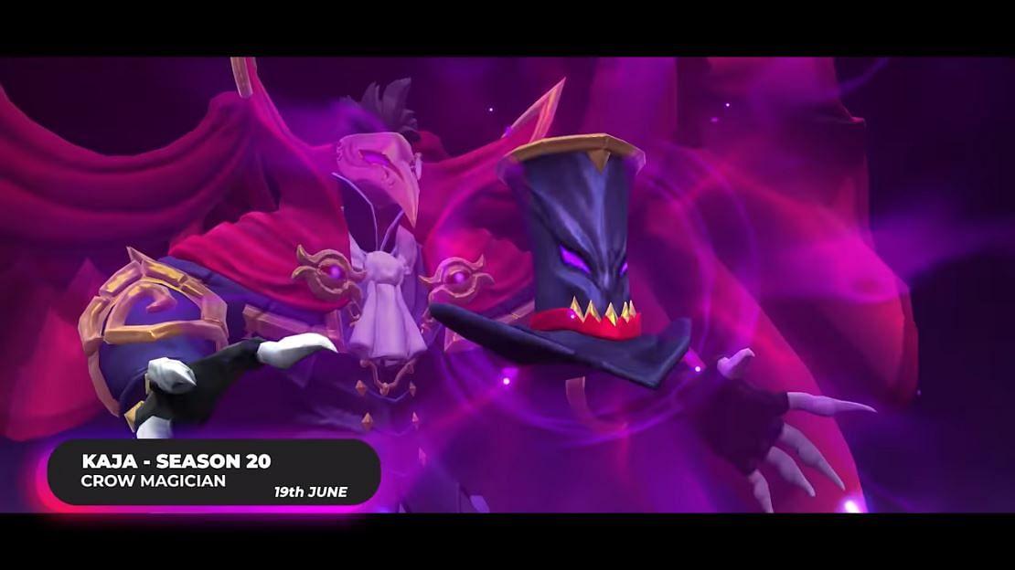 "Mobile Legends S20 Exclusive Skin: Kaja ""Crow Magician"" Preview"