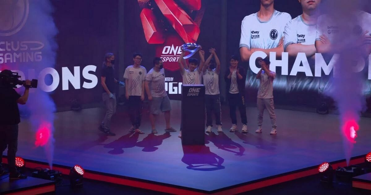 Invictus Gaming Are the Champions of the Singapore Major