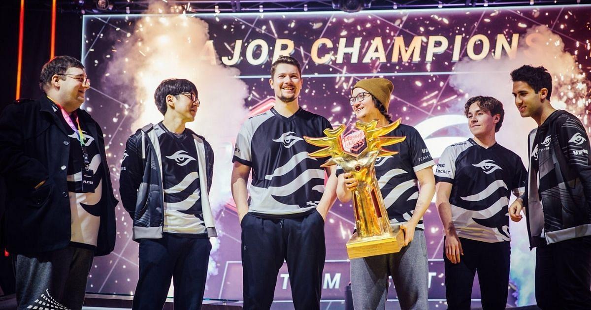 Team Secret Secure Their 8th Consecutive Tournament Win