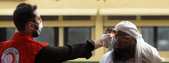 കോവിഡ്: പാകിസ്ഥാനില് 2,846 പുതിയ കേസുകള്; 118 മരണം