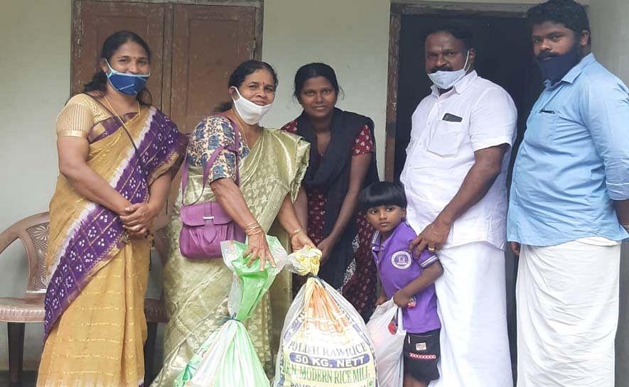 നിർദ്ധന കുടുംബങ്ങൾക്ക് സഹായവുമായി കോൺഗ്രസ്