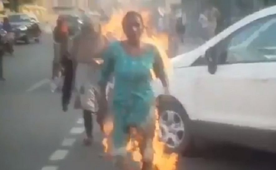 Screenshot grab from video