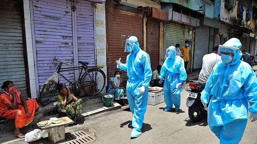 കോവിഡ്: ചൈനയെ മറികടന്ന് മുംബൈ; മരണം 5000 പിന്നിട്ടു