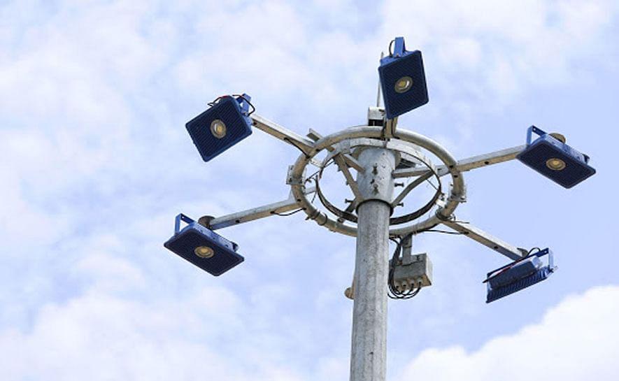 പെരുമ്പാവൂരിൽ ഹൈമാസ്റ്റ് ലൈറ്റുകളുടെ നിര്മ്മാണം ആരംഭിച്ചു