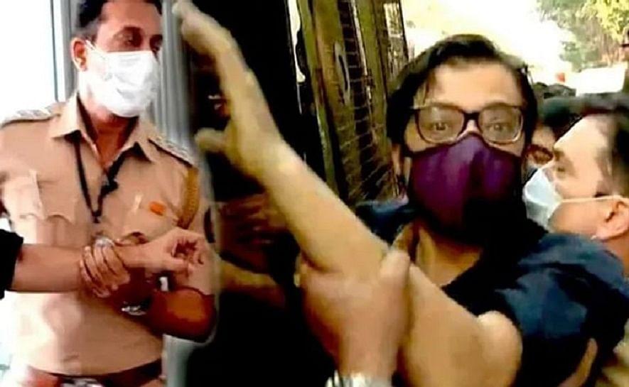 മുംബൈ പോലീസ് മര്ദിച്ചെന്ന് അര്ണബ് ഗോസ്വാമി