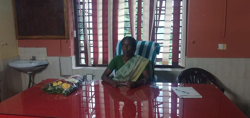 പത്തനാപുരം ബ്ലോക്ക് പഞ്ചായത്ത് പ്രസിഡന്റ് എ ആനന്ദവല്ലി