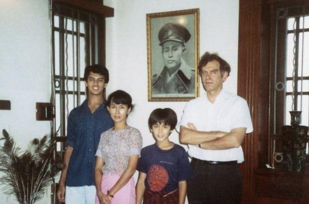 ഓങ് സാന് സൂ ചിയുടെ കുടുംബം