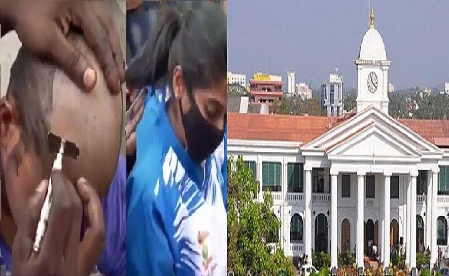 വാഗ്ദ്ധാനം ചെയ്ത ജോലി ലഭിച്ചില്ല: വേറിട്ട പ്രതിഷേധവുമായി ദേശീയ ഗെയിംസ് ജേതാക്കള്