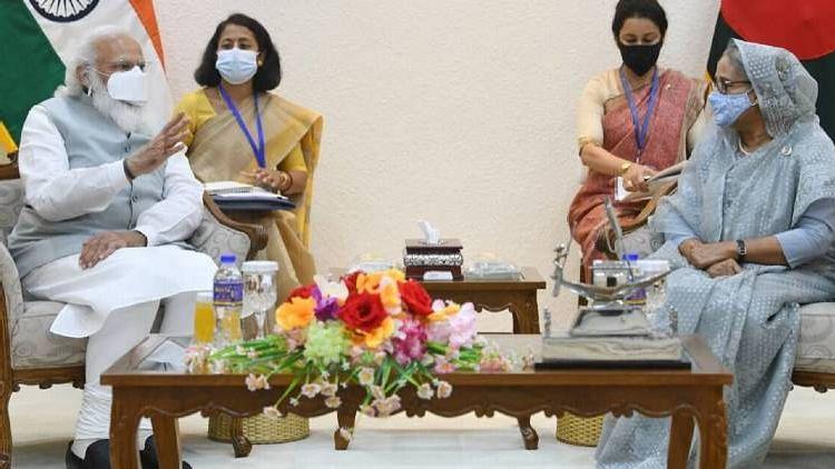 ഇന്ത്യയും ബംഗ്ലദേശും ശാന്തിയും സമാധാനവും ആഗ്രഹിക്കുന്ന രണ്ട്  രാജ്യങ്ങൾ : നരേന്ദ്ര മോദി