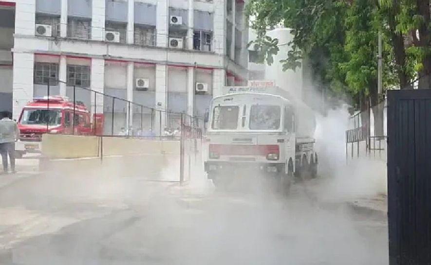 ഓക്സിജന് ചോര്ന്നു: മഹാരാഷ്ട്രയില് 22 കോവിഡ് രോഗികള്ക്ക് ദാരുണാന്ത്യം