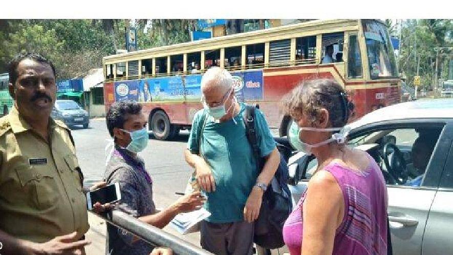 കോവിഡ്19: കേരള - തമിഴ്നാട് അതിര്ത്തികളില് പരിശോധന കര്ശനമാക്കി