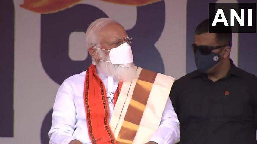 നിയമസഭാ തിരഞ്ഞെടുപ്പ് പ്രചാരണത്തിനായി നരേന്ദ്ര മോദി  പത്തനംതിട്ടയിൽ
