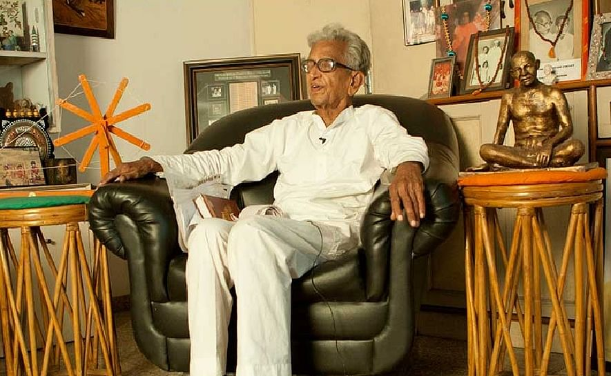 മഹാത്മാ ഗാന്ധിയുടെ പേഴ്സണല് സെക്രട്ടറി വി. കല്യാണം നിര്യാതനായി