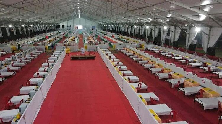 ഭോപ്പാലിൽ 1000 പേർക്കുള്ള ക്വാറന്റീൻ സൗകര്യമൊരുക്കി ബിജെപി ഭോപ്പാൽ ഘടകം