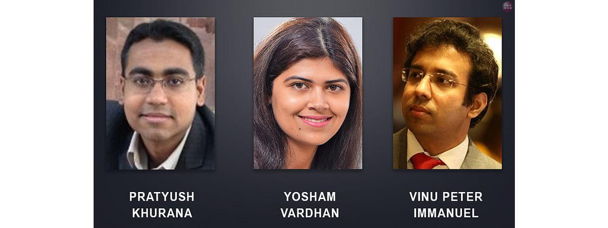 Pratyush Khurana, Yosham Vardhan, Vinu Peter Immanuel