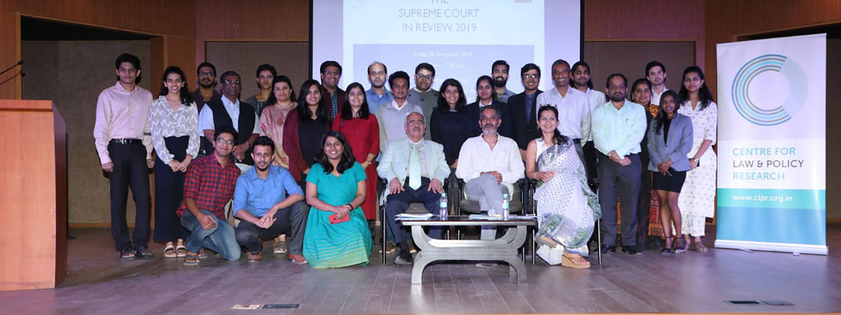 Supreme Court judgments passed in 2019: Discussion held by CLPR