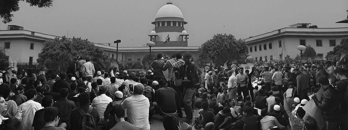 Supreme Court, CAA protests