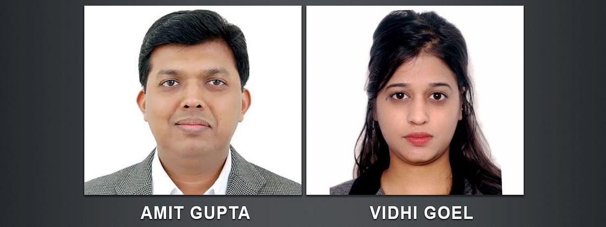Amit Gupta, Vidhi Goel