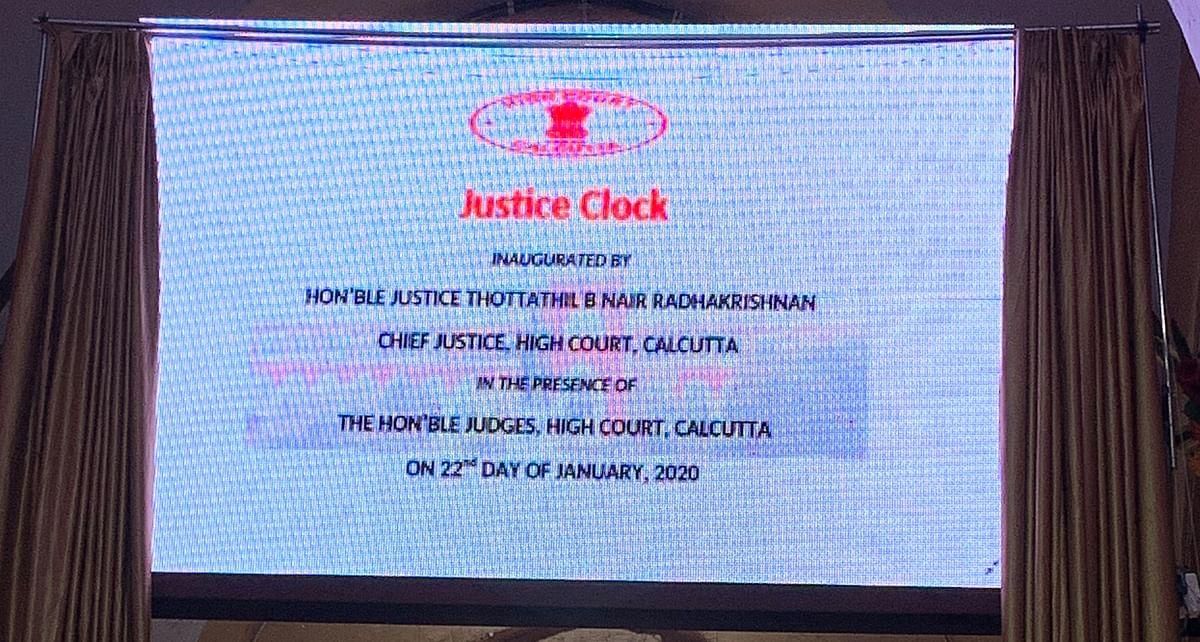 justice clock