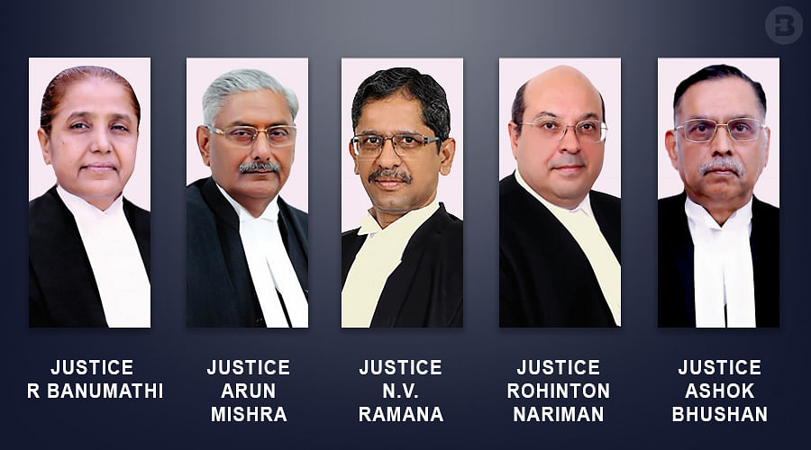 The five-Judge Bench constituted to hear Curative Petitions filed in the Nirbhaya case