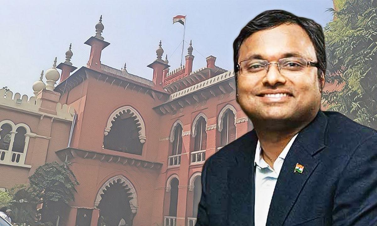 Madras HC stays trial court proceedings in tax case against Srinidhi, Karti Chidambaram until jurisdictional challenge