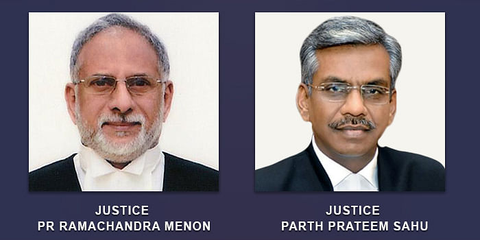 Chief Justice PR Ramachandra Menon and Justice Parth Prateem Sahu