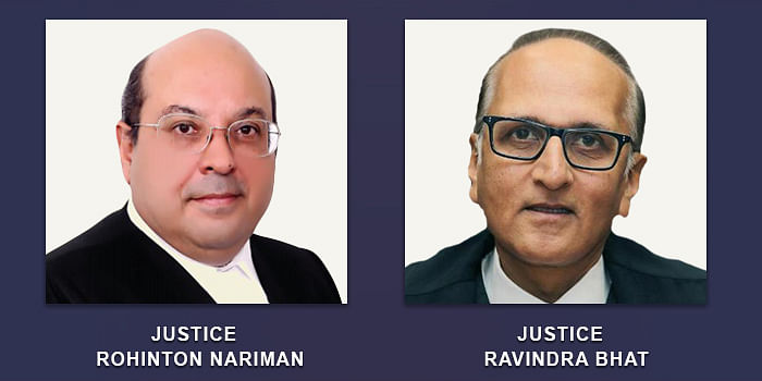 Justices Rohinton Nariman and Ravindra Bhat