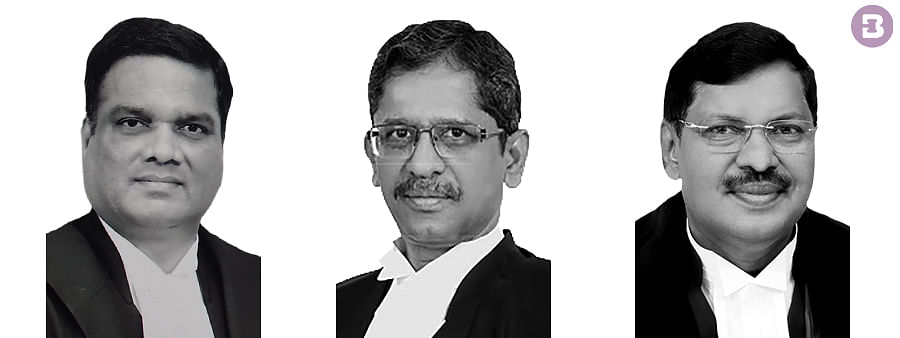 Justices NV Ramana, R Subhash Reddy, and BR Gavai delivered the verdict