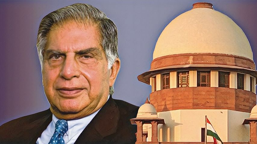 Ratan Tata moves SC against NCLAT order holding him guilty of prejudicial acts