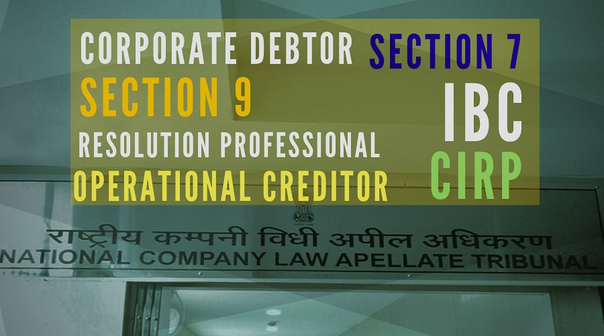 Dismissal of Section 9 IBC application on technical defect such as incompleteness not warranted: NCLAT