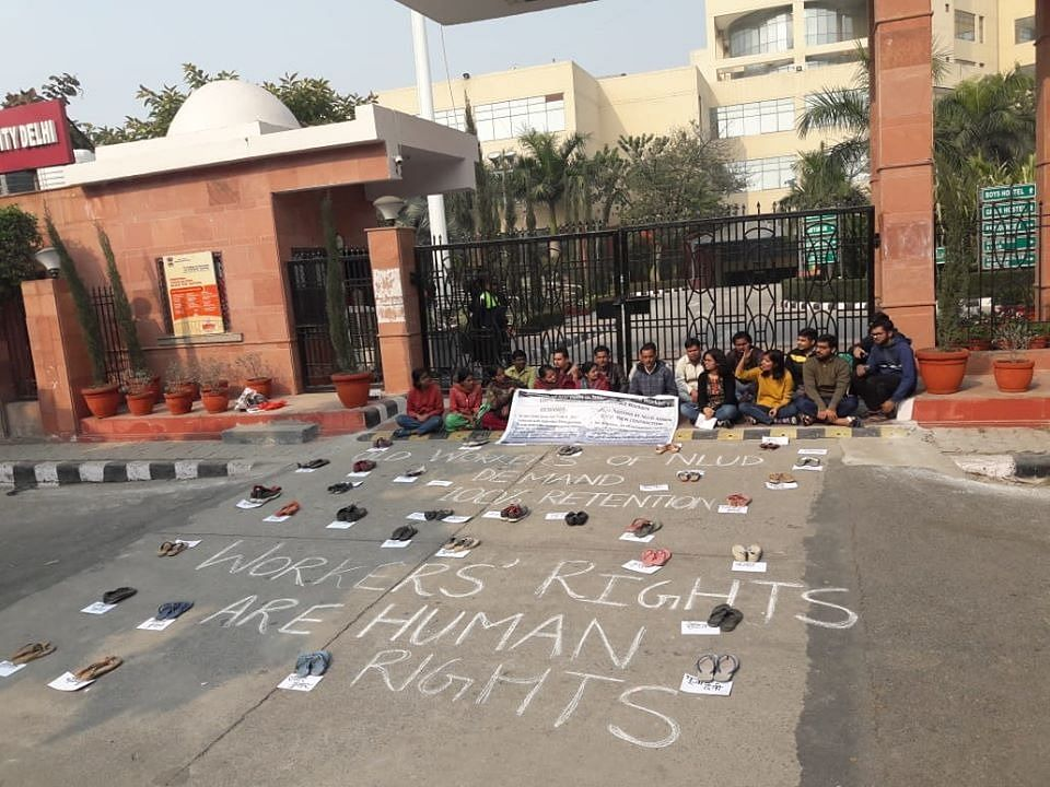 """We hope that this incident is an aberration"": NLU Delhi alumni expresses support for ""shocking"" detention of student and Safai Karamchari"