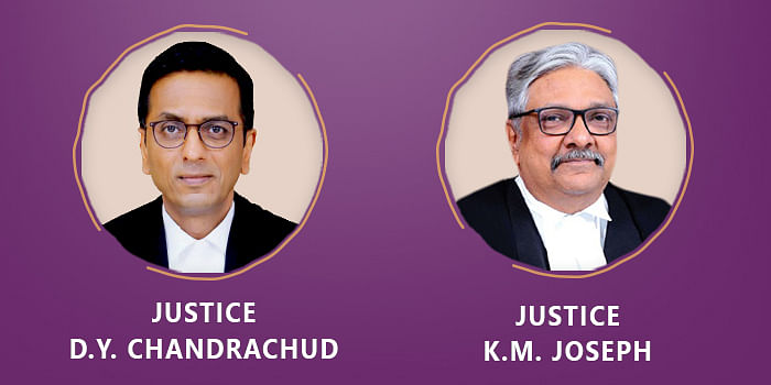 The Bench of Justices DY Chandrachud and KM Joseph issued notice in the matter