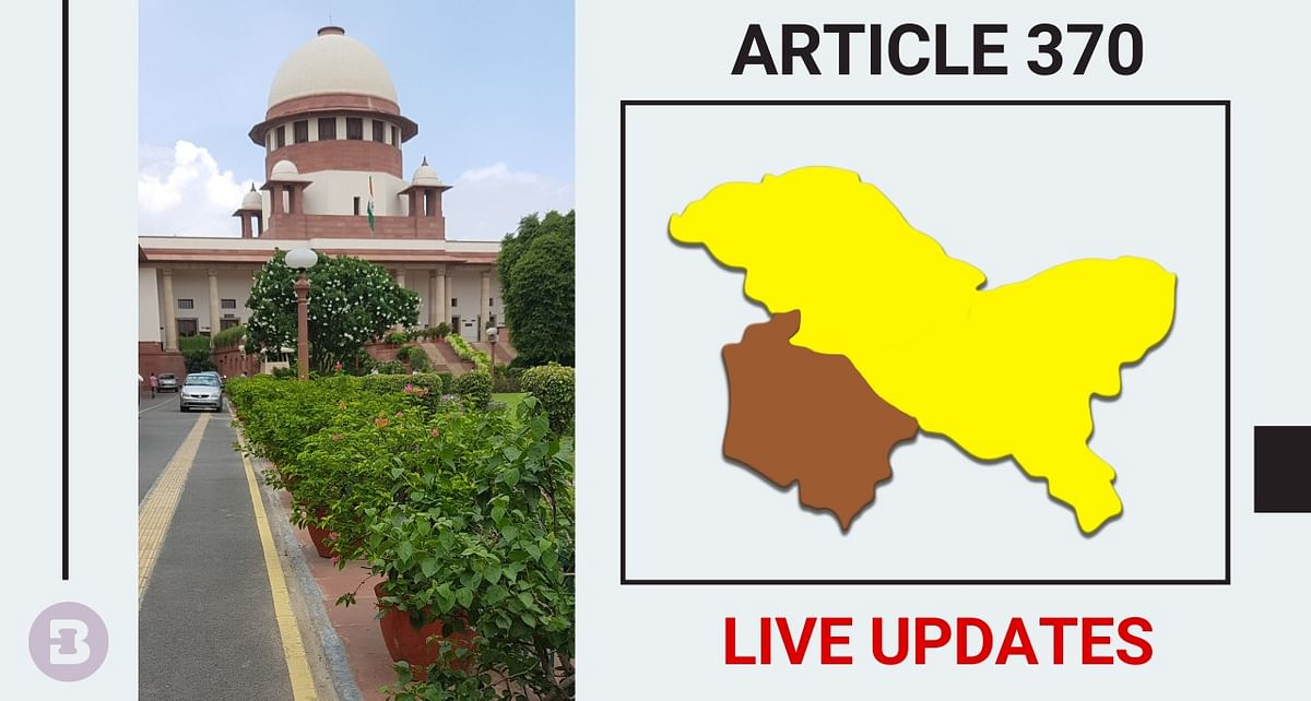 Abrogation of Article 370: Supreme Court reserves orders on whether issue should be referred to larger Bench