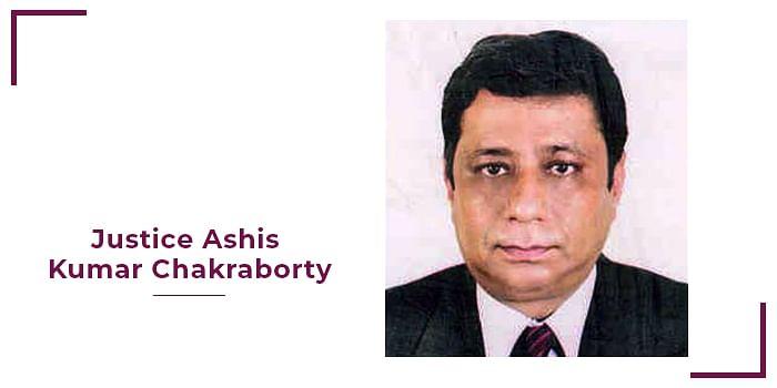 Justice Ashis Kumar Chakraborty of Calcutta High Court passes away