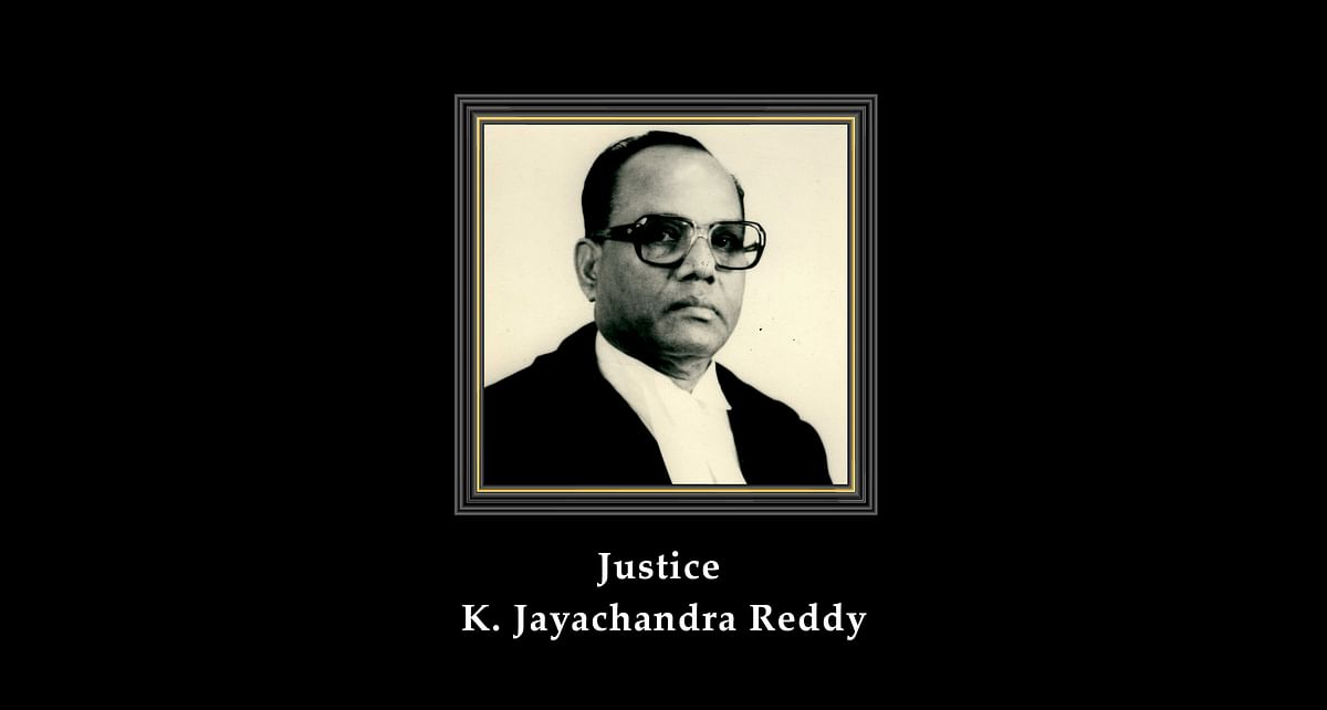 Former Supreme Court Judge Justice K. Jayachandra Reddy passes away