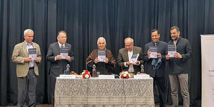 The lecture also marked the launch of LC Jain's book on Civil Disobedience