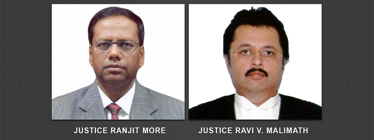 Centre notifies transfer of Justice Ranjit More from Bombay to Meghalaya HC and Justice Ravi Malimath from Karnataka to Uttarakhand HC