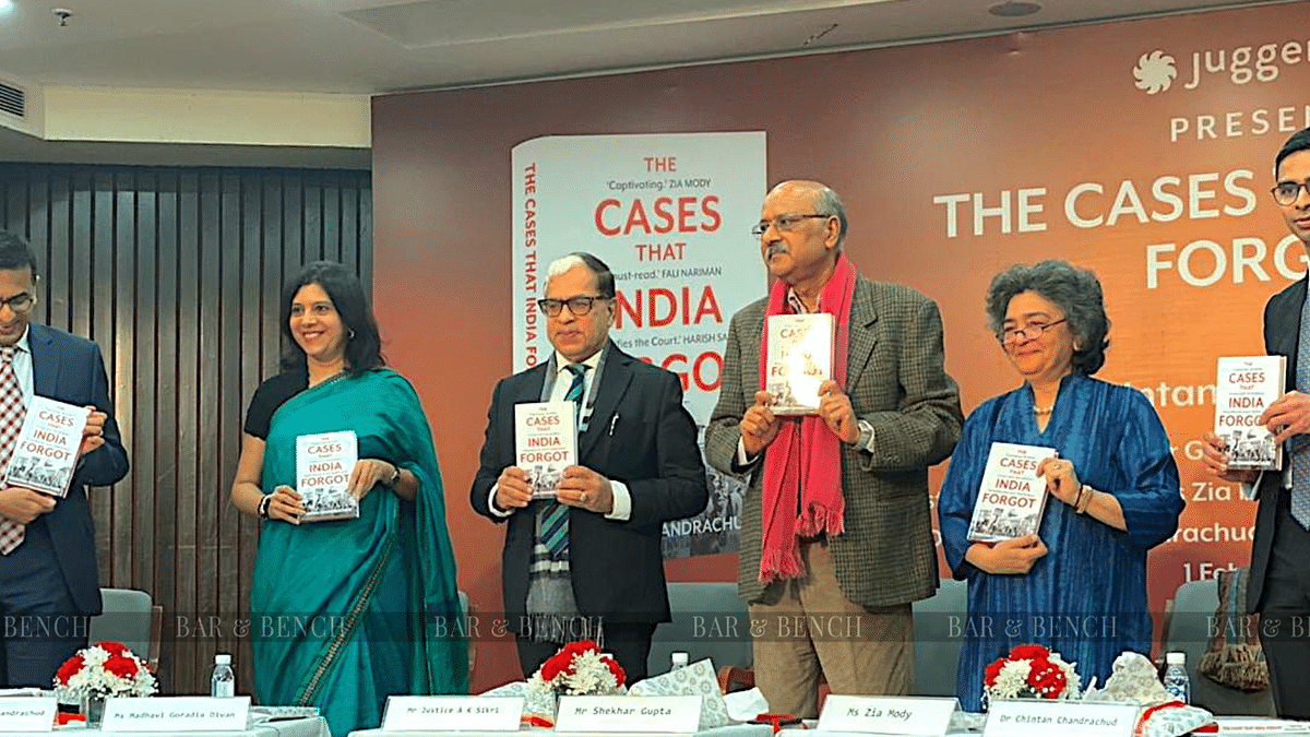 "[Book Launch] ""The cases that India forgot"" by Chintan Chandrachud"