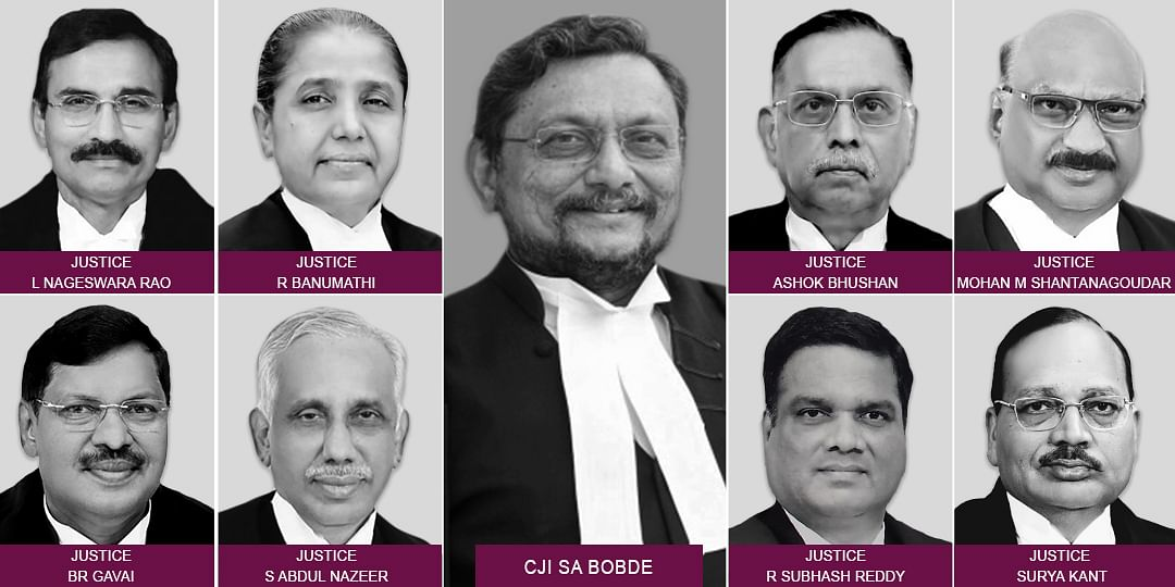 Nine-Judge Bench constituted to hear the questions referred to a larger Bench in the Sabarimala review