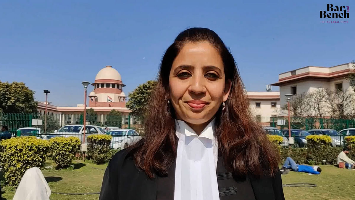 """This was a battle for parity"", Aishwarya Bhati on SC judgment on permanent commission for women in Army [Watch Video]"